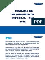Pmi_mejora Continua Ecasa 2012