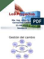 Los Proyectos en Mantenimiento