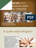 Manual de Socialización Para Adultos Mayores