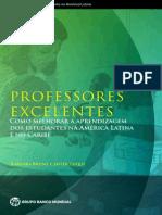 Bruns, Barbara. Luque, Javier - Professores Excelentes - Como Melhorar a Aprendizagem Dos Estudantes Na AL e No Caribe