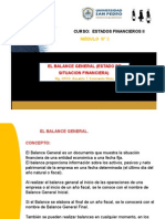 3. MODULO Nº 3 - El Balance General (Estado de Situación Financiera)