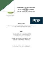 Valoracion de La Situacion Sanitaria Del Camaron en Puerto Morazan Chinandega