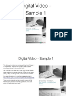 Video Creation Activities - Digital Video