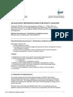 Part 1 Introduction Qualitative Methods