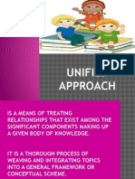 unified approach in teaching
