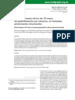 Comportamiento clínico de 70 casos de gastroenteritis por rotavirus,