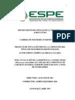 Evaluacion de la resistencia a costra negra en materiales germoplasmicos de papa en invernadero