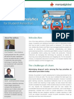 Predictive Analytics for student retention