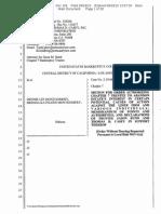 DM Bankr # 156 | Motion to Abandon Liner Claims - 2-10-bk-18510-BB_156