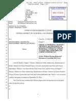 DM Bankr # 159 | Order re Motion to Abandon Claims | 2-10-bk-18510-BB_159.pdf