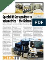 Mixit Adds Modern Kaizen Mixer Vehicle To Its Concrete Fleet List