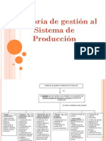 auditoria de produccion