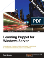 Learning Puppet for Windows Server - Sample Chapter