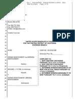 Flynn v DM Bankr #1   Complaint   2-10-ap-01305-BB_1
