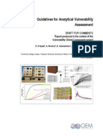 guildlines for analytical vulnerability