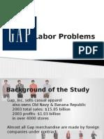 Gap's Labor Problems (1)