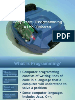 Computer Programming With Robots