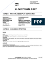 Msds Water Glycol