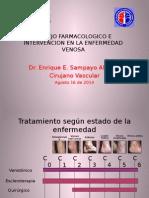 Manejo Farmacologico e Intervencion en La Enfermedad Venosa-dr Enrique Sampayo