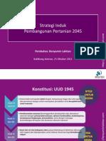 Slide 45 Strategi Induk Pembangunan Pertanian 2045 Kemtan 20121025