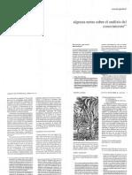 GANDARA, M. Algunas Notas Sobre El Análisis Del Conocimiento. 1990