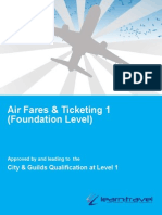 Airfare and Ticketing