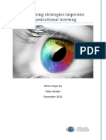 Visualizing Strategies Improves Org Learning - White Paper