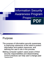 Information Security Awareness Program