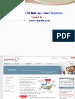 Turnitin Instructions Bsns 7360 s2 2015