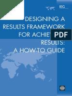 Designing Results Framework
