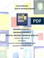 Resume Macroeconomics Chapter 3