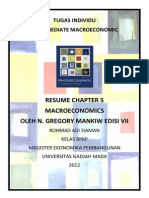 Resume Macroeconomics Chapter 5