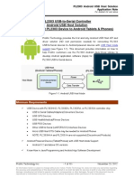 PL2303 Android USB Host Solution Application Note