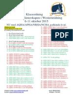 Klassordning SM 15 Korrigerad 18 Aug