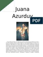 J U A N A AZURDUY