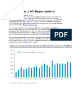 Chinese Yuan a 360 Degree Analysis