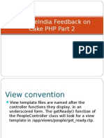 SynapseIndia Feedback on Cake PHP Part 2