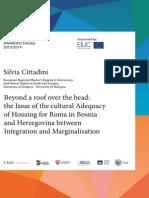 Silvia Cittadini MA Thesis