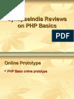 SynapseIndia Reviews on PHP Basics