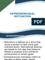 Slides about Motivation