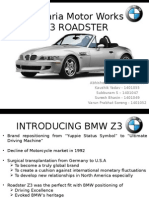 Marketing (BMW Z3)