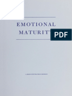 Emotional Maturity