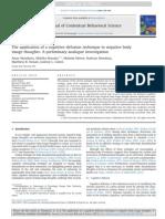 Amar Mandavia Et Al. - The Application of a Cognitive Defusion Technique to Negative Body Image Thoughts