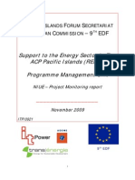 REP-5 Niue - Project Outcomes