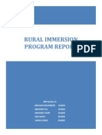 Rural Immersion Program Report_roll No b14001 to b14005_aid