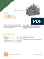 Waukesha gas engines VHP P9390GL