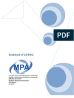 MPA Contract