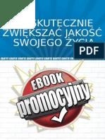 Jak Skutecznie Zwiekszac Jakosc Swojego Zycia Darmowy eBook PDF