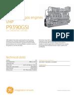 Waukesha gas engines VHP P9390GSI