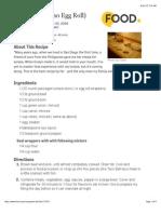 Lumpia - Filipino Egg Roll Recipe